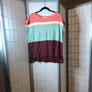 Loft knit top - very pretty colors